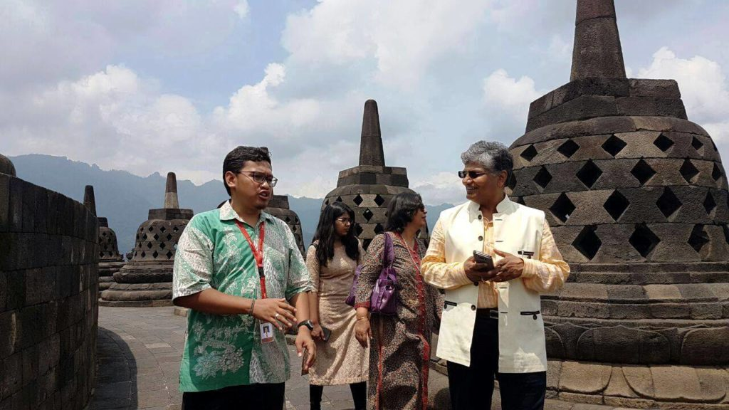 Ambassador Of The Government Of India To Indonesia Visited Borobudur