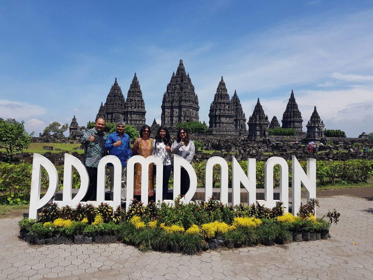 Duta Besar Pemerintah India Untuk Indonesia Berkunjung Ke Candi Borobudur Prambanan Ratu Boko Taman Wisata Candi