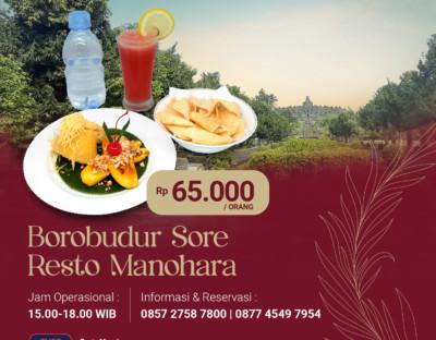 Borobudur Sore